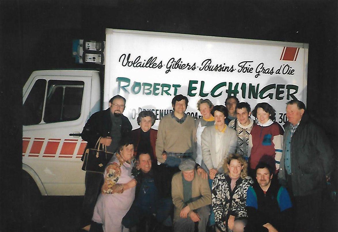 Equipe ferme berling 1985