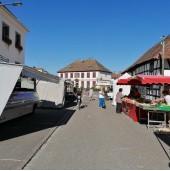 Marché de Herrlisheim (jeudi matin 7 h à 12 h)