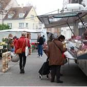 Marché de Drusenheim (mercredi matin de 7 h à 12 h et vendredi après-midi de 16 h à 19 h)